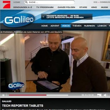 Tech Reporter Tablets