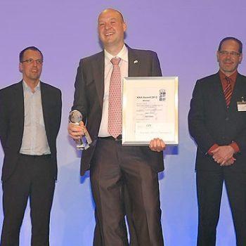 Elektro Hieber gewinnt KNX Award 2012