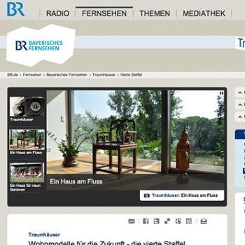 """""""Traumhäuser"""" im Bayerischen Fernsehen"""