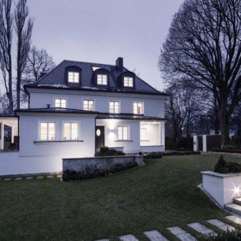 Hightech-Villa mit historischem Charme