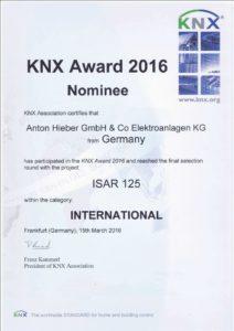 KNX Award 2016