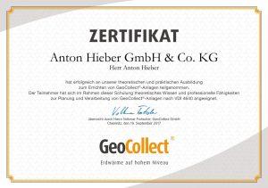Erdwärme GeoCollect