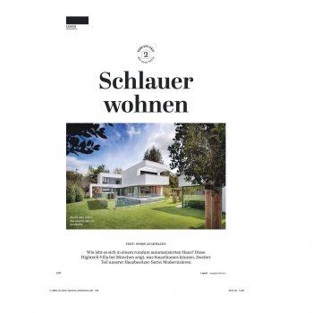 Presse: Faszinierendes Smart Home bei München