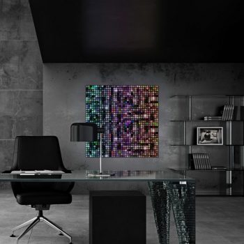 Volatiles LED-Mosaik