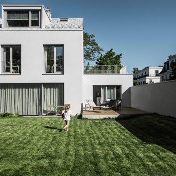Neubau 2-Familien-Doppelhaus